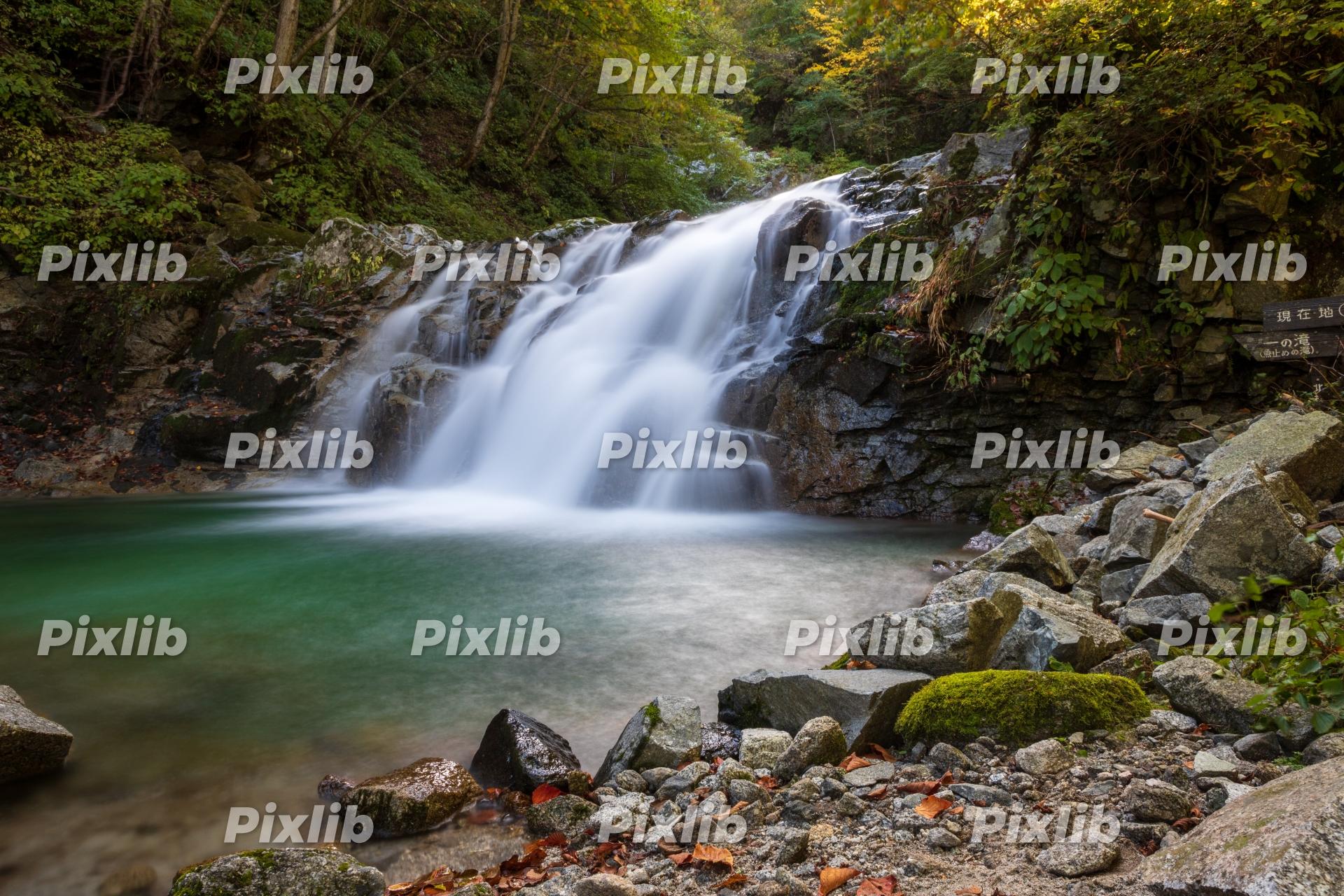 石空川渓谷 一の滝
