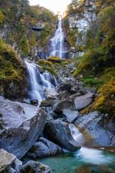 秋の北精進ヶ滝