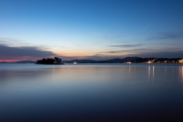 宍道湖のマジックアワー
