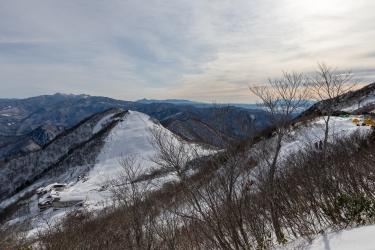 天神平の冬