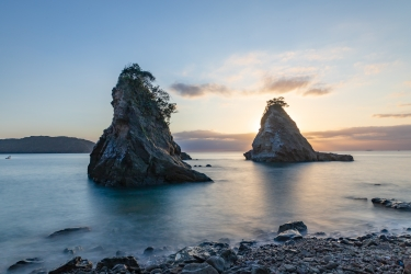 雀島と船虫島