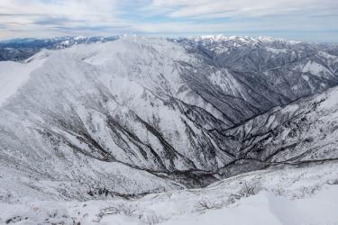 谷川岳 冬